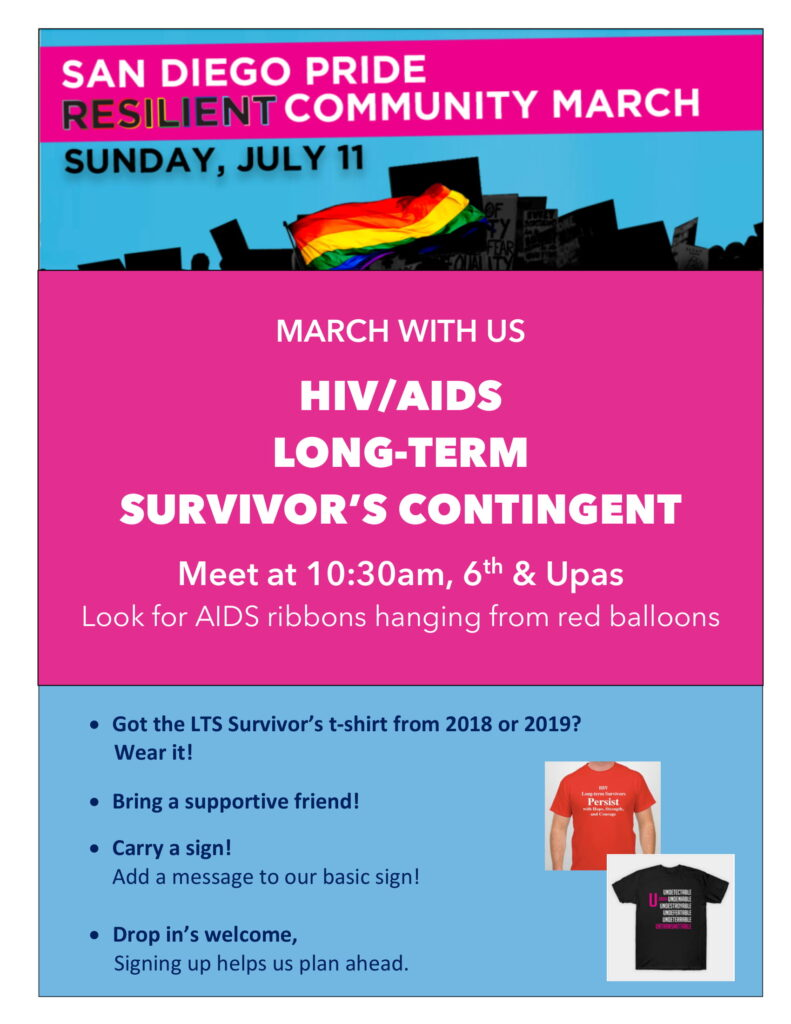 Calling all HIV/AIDS Long-Term Survivors and Supporters